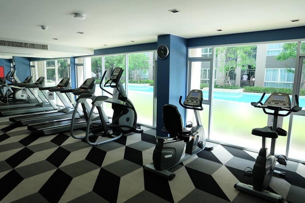 Fitness Center: