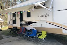 Camping without roughing it.