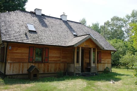 Relax in a forest village 1 hour drive from Warsaw - Dębe Wielkie