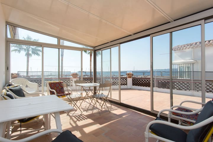 Maison vue sur mer - Cannes Centre - Cannes - Huis