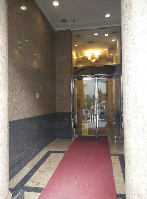 Entrance of the building (2)
