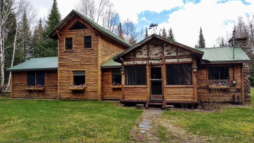 Rustic Cabin Adirondack Get Away