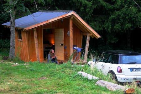La hutte insolite dans la nature - Lac-des-Rouges-Truites - Cabin