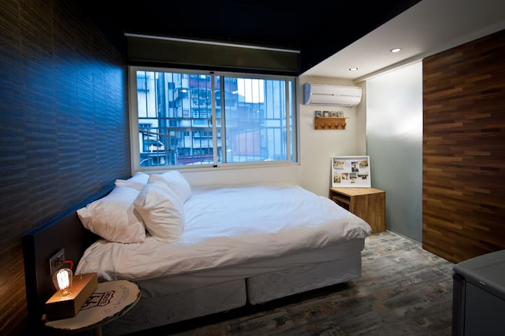 【林森氧氣公寓 】O2 Apartment -Linsen Branch M9 雙人舒適