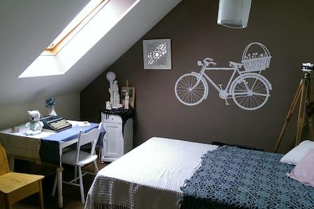 """Romantyczny pokój """"Bicycle room"""" - Lublin"""