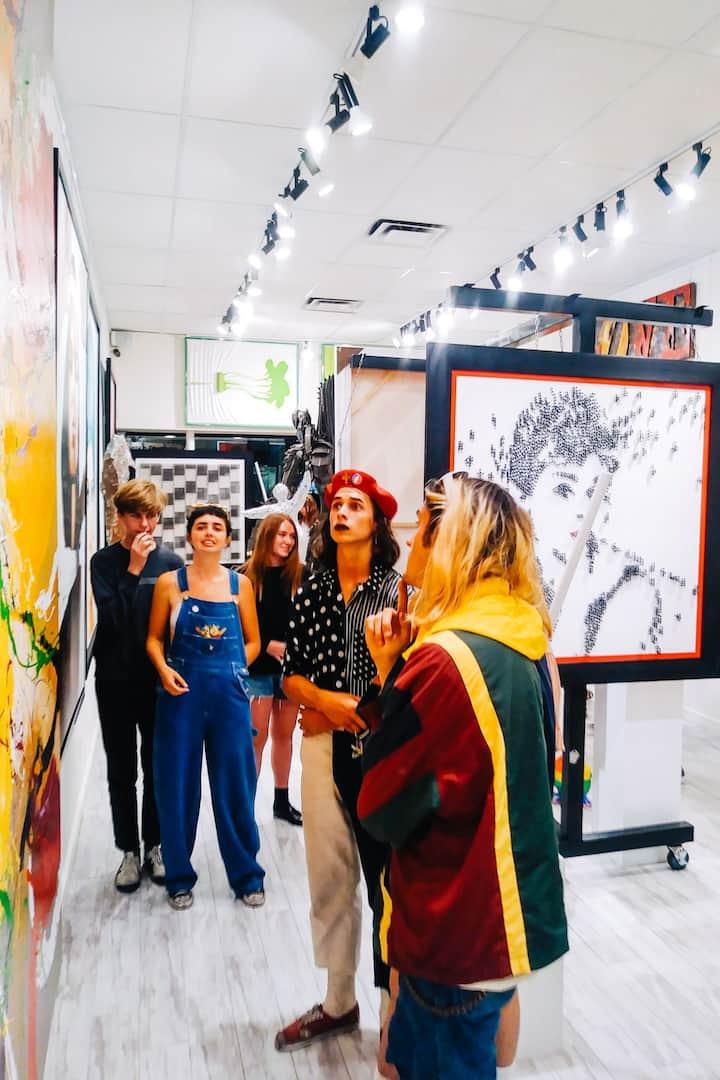 Explore unique galleries
