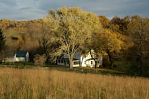 Walnut Run Farm - The 1880 farm is intact with a barn, smoke house, spring house and corn crib.