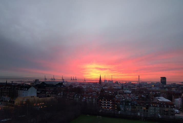 Central apartment with amazing view - Aarhus - Apartment