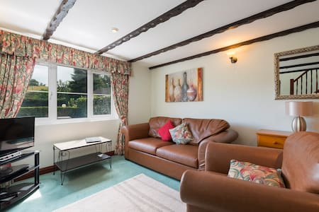 One bedroom 'Valley View Cottage' at Crylla Valley - Saltash - Huis