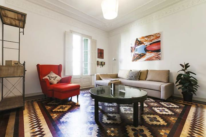 Huge and lovely apartment in centre - Barcelona - Apartment
