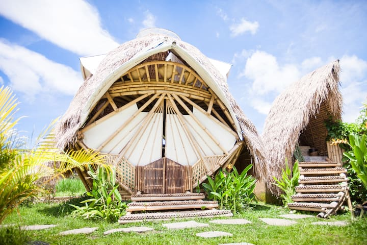 A fairy tale accommodation great for couples or single travelers