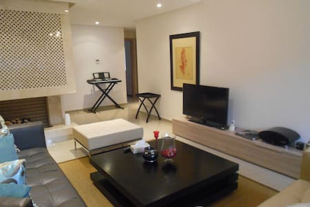 Appartement luxueux en bord de mer - Rabat prestigia plage des nations