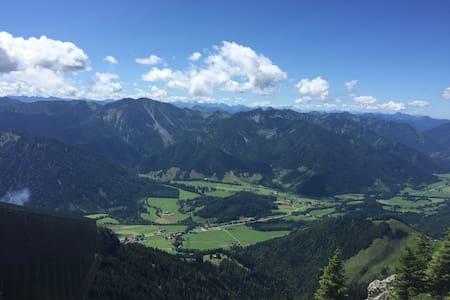 Unterkunft in Bergnähe - Bruckmühl