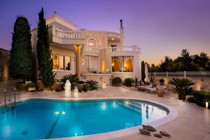 Super Luxury Villa with Pool - Crete - Gouves - Villa