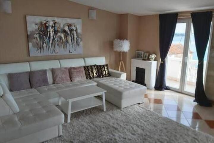 Zara home beachfront apartment