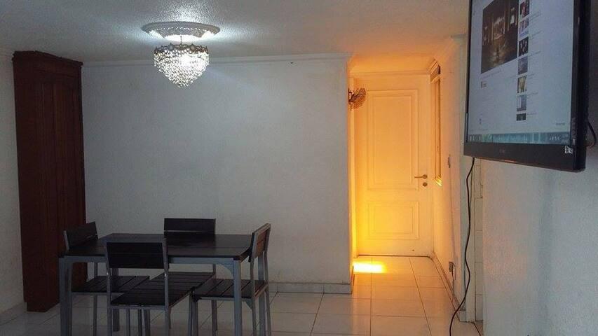 Bonito y confortable departamento