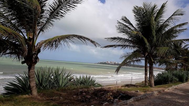 Apto/Flat, praia Cotovelo, litoral sul do RN