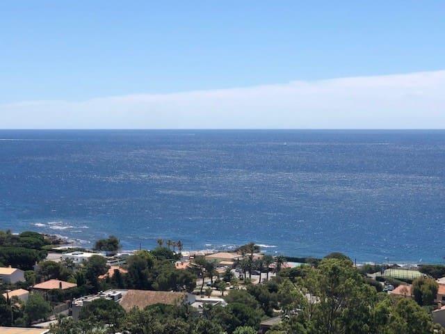Location villa 100m2 vue mer panoramique