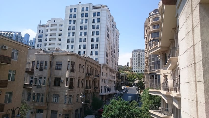 The apartment in the heart of the city - Baku