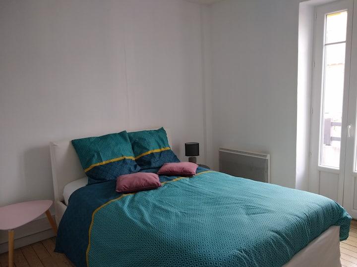 Grande chambre privée idéalement situé à La Baule