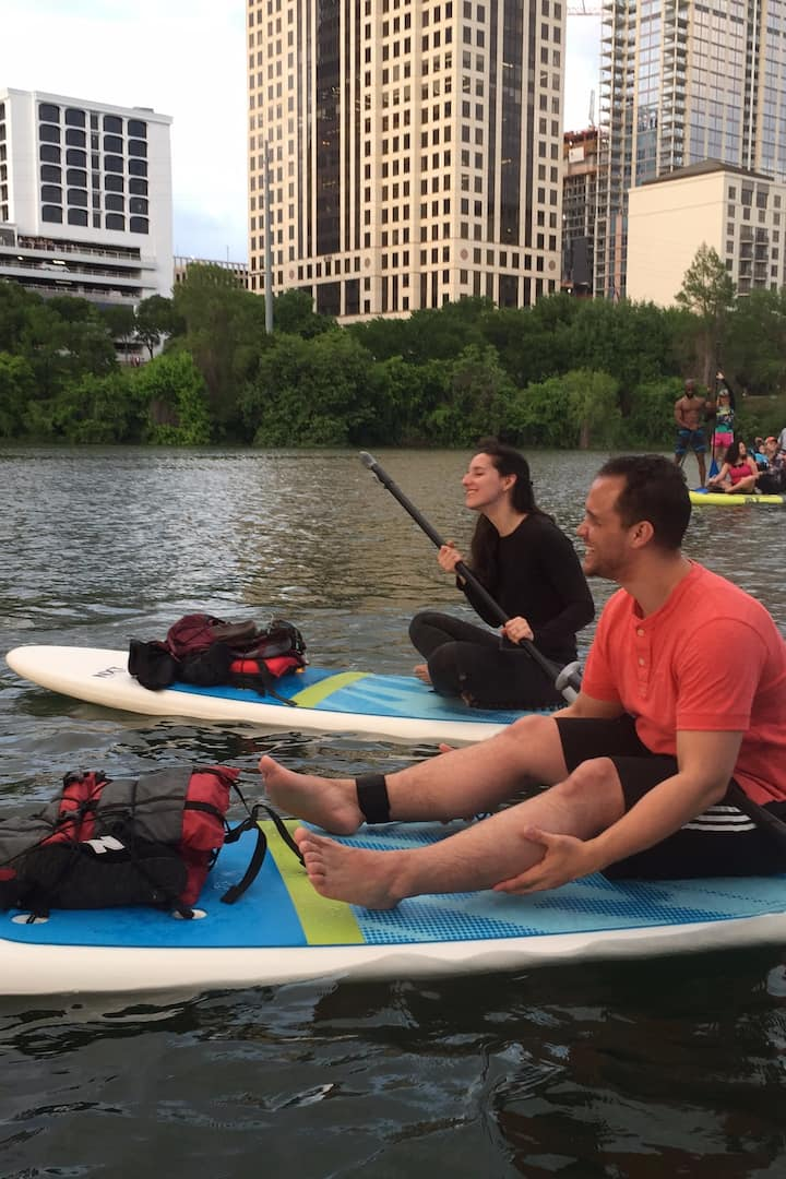 Sit like a kayak