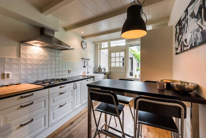 Beautiful, cozy apartment with big garden - Haarlem - Huoneisto
