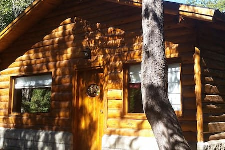 Cabaña en Mallín Ahogado, entorno natural.