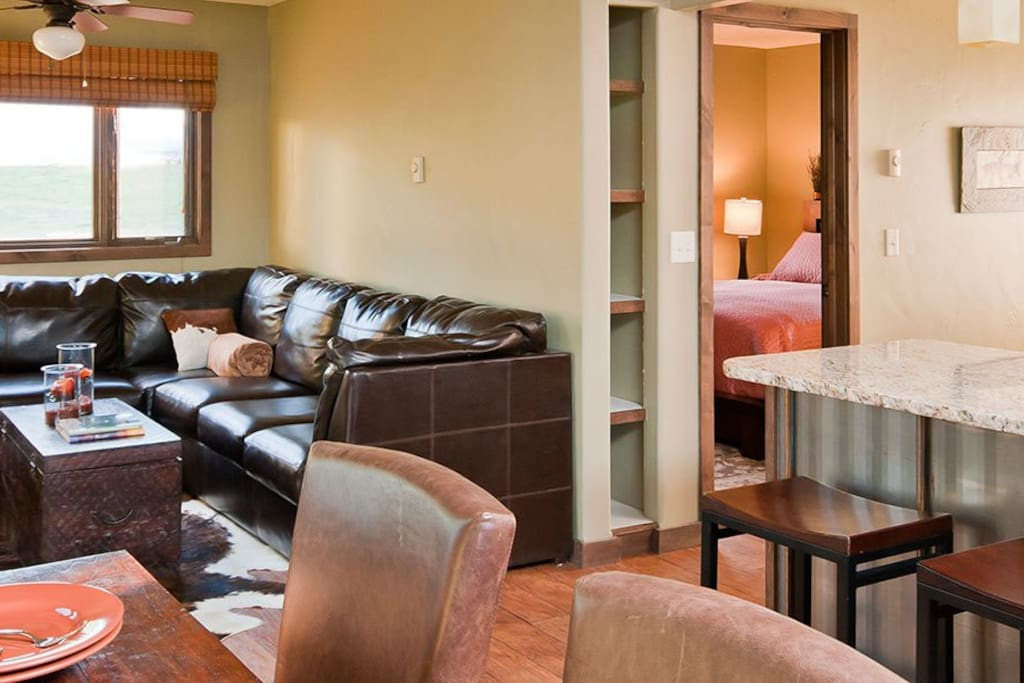 Luxurious Accomodations Steps From the Yellowstone River