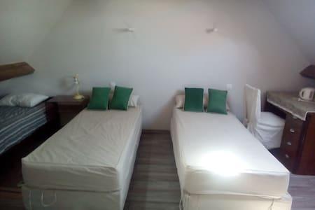 Chambres 2à 5 pers/vallée de l'Eure - Meslay-le-Grenet