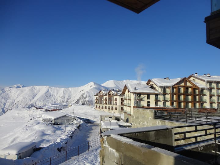 Gudauri apartment for rest and ski