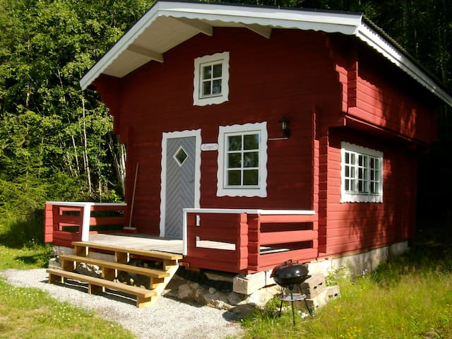 Charming Cosy Cottage 'Lingon' with Lake view.