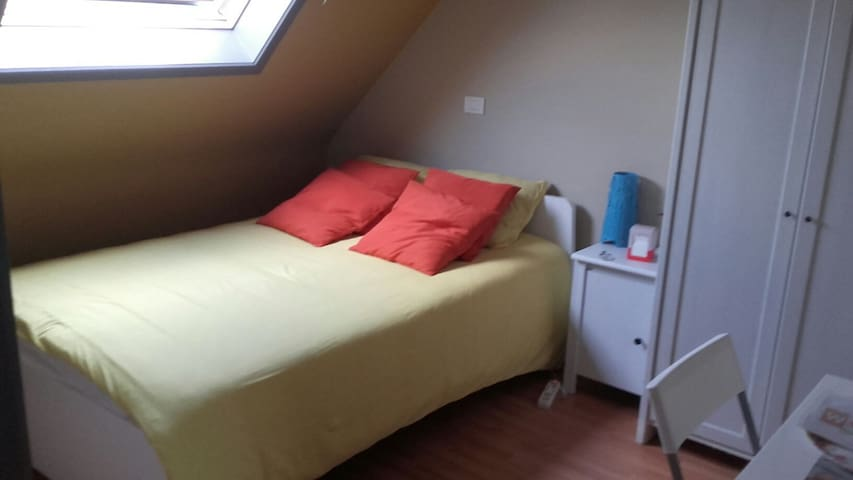 PRETTY ROOM IN HOUSE(15 min  GRAND PLACE BRUSSELS)