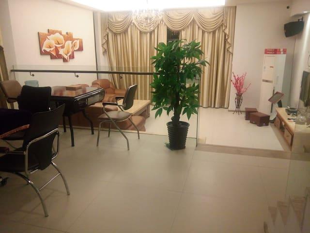 从化温泉富力别墅24栋,温泉,KTV,烧烤薇。信。jackie8077 - Guangzhou - House