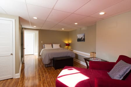 LARGE BEDROOM WITH PRIVATE BATHROOM