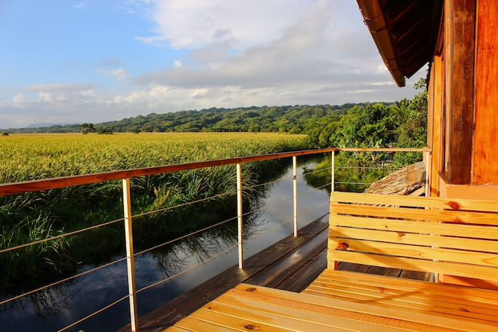 Sanctuary w/ Lagoon & Mountain view - Cabarete - Casa