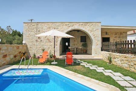 Villa with 2 BD and private pool, near Falassarna - Phalasarna