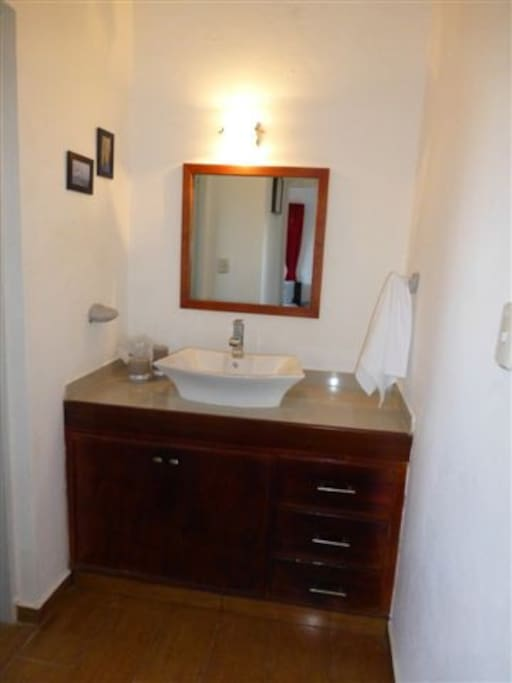 Your own Private bathroom- with it's own door (not shared)