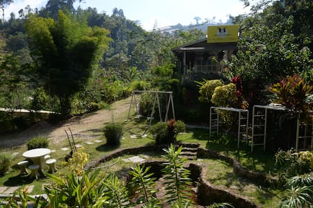 Double Room in Highlands Farmstay - Kelantan - Bed & Breakfast