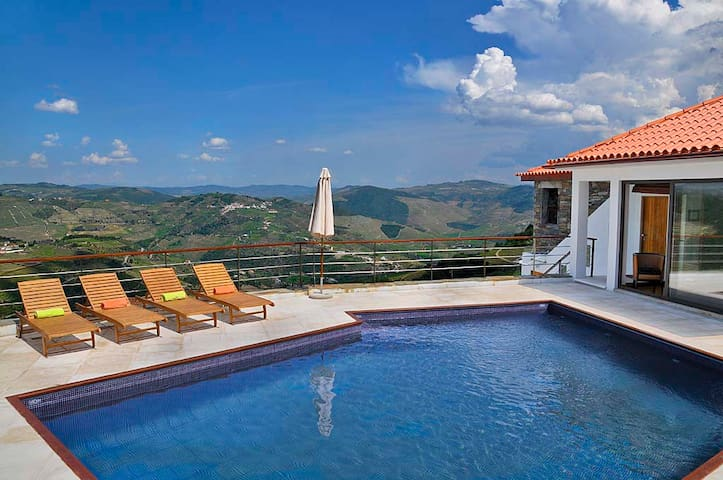 Stunning Luxury Villa - Douro Valley -1hr 15 Porto - Sanfins do Douro - Dům