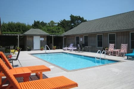 Cabana w/Pool Compliments the Sunkissed Beaches! - Ocracoke - 公寓