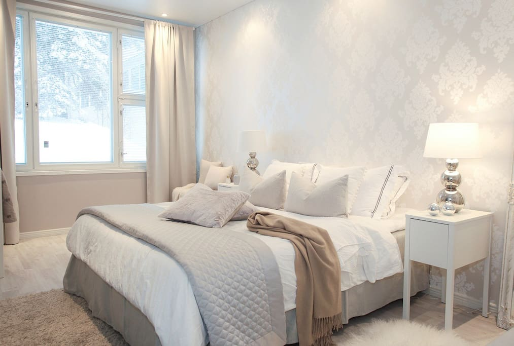 Romantic and large master bedroom