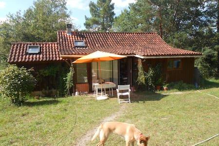 Maison en bois en pleine nature - Belaye