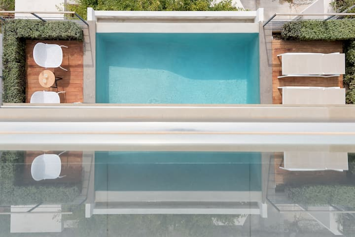Alegria Villa with private pool, Lagonisi, Athens