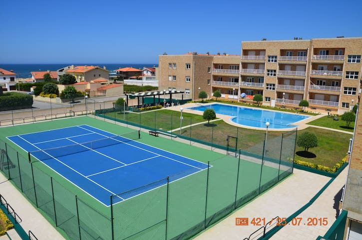 Beach apart + pool and tennis court - Labruge - Huoneisto