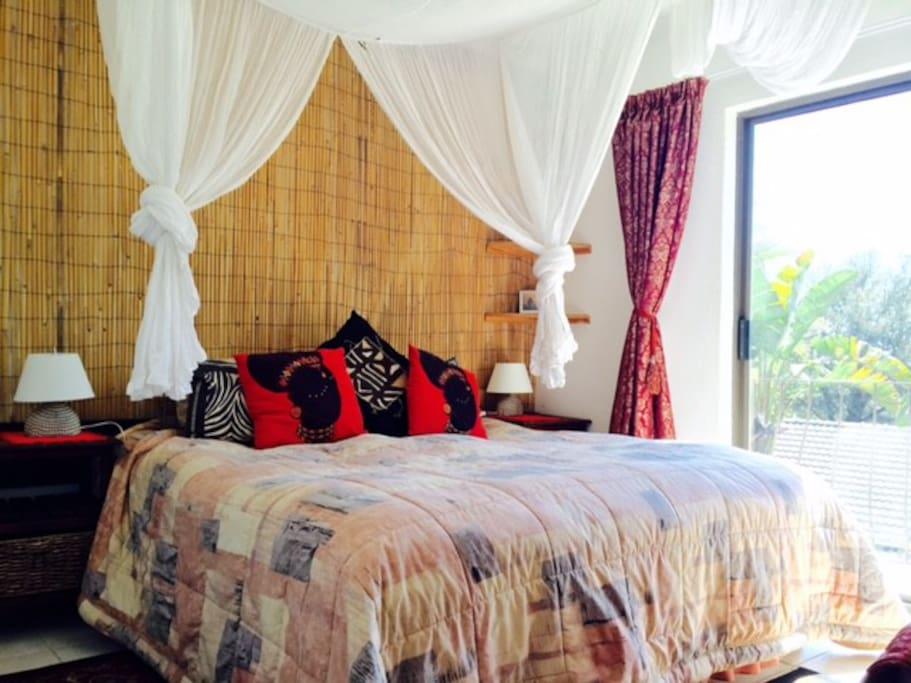 The African Bedroom