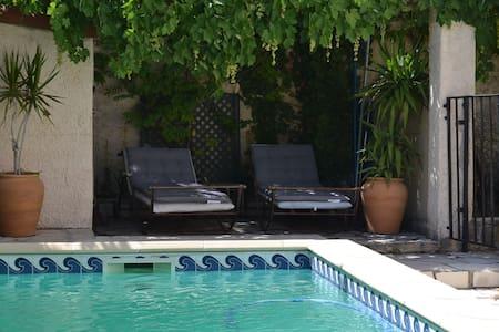 Maison piscine au dessus Marseille - Plan de cuques
