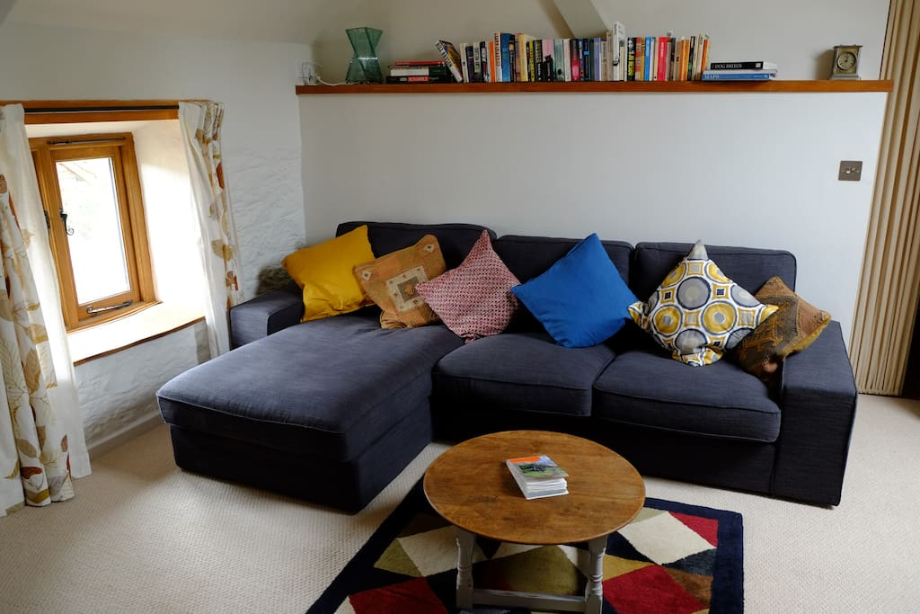Big, comfortable sofa - perfect for relaxing!