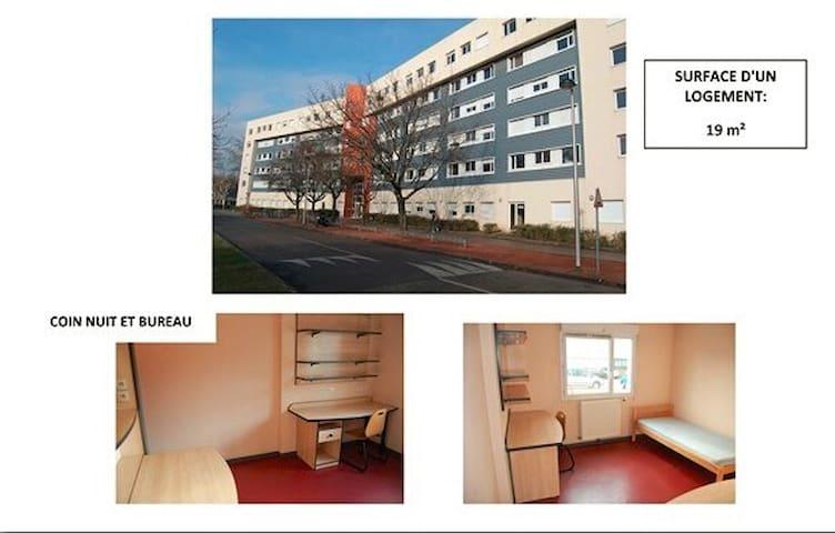 Student Studio of 19 m2 - Villeurbanne - Huoneisto