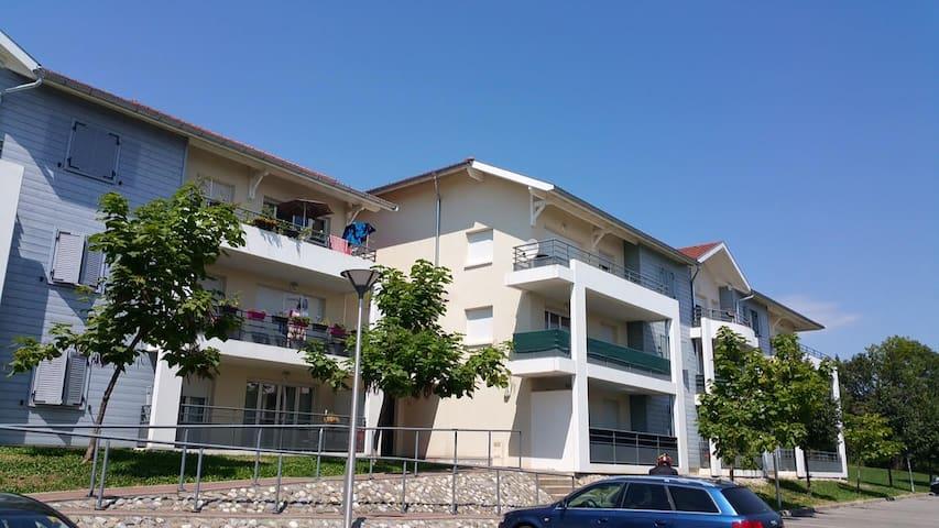 Bel appartement proche de Genève - Ain - Apartamento
