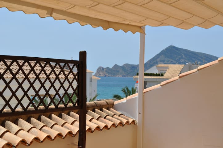 Penthouse with amazing sea view terrace in Altea - Altea - Appartement en résidence